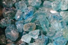 Μπλε apatite ορυκτή σύσταση Στοκ εικόνες με δικαίωμα ελεύθερης χρήσης