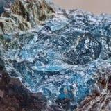 Μπλε apatite Στοκ Εικόνες