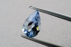 Μπλε beryl aquamarine Στοκ Φωτογραφία