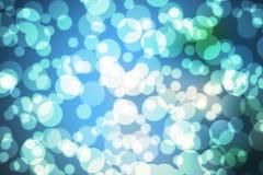 Μπλε Boken Στοκ εικόνα με δικαίωμα ελεύθερης χρήσης