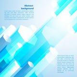 μπλε cristal Διανυσματική απεικόνιση για την επιχειρησιακή παρουσίασή σας Στοκ φωτογραφία με δικαίωμα ελεύθερης χρήσης