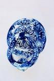 Μπλε doorhandle Στοκ φωτογραφία με δικαίωμα ελεύθερης χρήσης