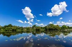 Μπλε eky ημέρα Στοκ φωτογραφία με δικαίωμα ελεύθερης χρήσης