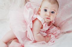 Μπλε Eyed Ballerina Στοκ Εικόνες