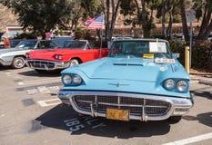 Μπλε 1963 Ford Thunderbird Στοκ εικόνες με δικαίωμα ελεύθερης χρήσης