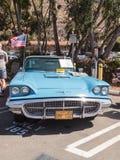 Μπλε 1963 Ford Thunderbird Στοκ Εικόνες