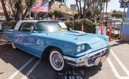 Μπλε 1963 Ford Thunderbird Στοκ εικόνα με δικαίωμα ελεύθερης χρήσης