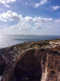 Μπλε grotto στη Μάλτα Στοκ Εικόνες