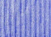 Μπλε knitwear υπόβαθρο σύστασης Στοκ φωτογραφίες με δικαίωμα ελεύθερης χρήσης