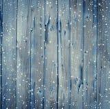 μπλε snowflakes ανασκόπησης άσπρος χειμώνας Στοκ Εικόνα