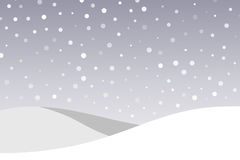 μπλε snowflakes ανασκόπησης άσπρος χειμώνας Στοκ φωτογραφία με δικαίωμα ελεύθερης χρήσης