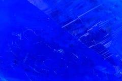 Μπλε vitriol μετάλλευμα Στοκ Εικόνα