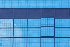μπλε Windows γραφείων της Ουγγαρίας ανασκόπησης Στοκ Εικόνες