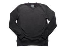 Μπλούζα που απομονώνεται μαύρη στο λευκό Στοκ Εικόνα
