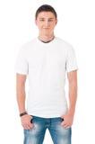 Μπλούζα στο άτομο Στοκ φωτογραφία με δικαίωμα ελεύθερης χρήσης