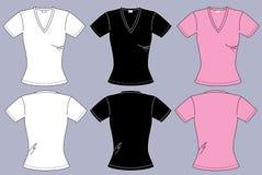 Θηλυκές μπλούζες Στοκ Φωτογραφίες