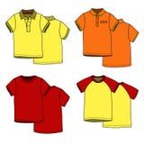 Μπλούζες χρώματος Στοκ εικόνα με δικαίωμα ελεύθερης χρήσης