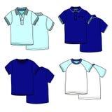 Μπλούζες Χρώμα Στοκ φωτογραφία με δικαίωμα ελεύθερης χρήσης