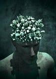 μυαλό αστικό Στοκ εικόνες με δικαίωμα ελεύθερης χρήσης
