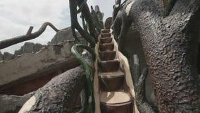 Μυθική σκάλα σε ένα κτήριο φιλμ μικρού μήκους