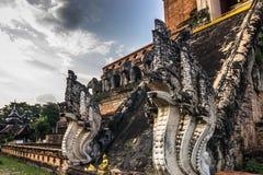Μυθικοί φύλακες, Chiang Mai, Ταϊλάνδη Στοκ Φωτογραφίες