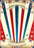 Μυθικό αμερικανικό υπόβαθρο Στοκ Εικόνα