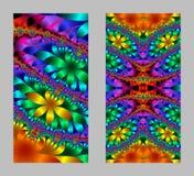 Μυθικό δικτυωτό σχέδιο υπό μορφή snowflakes ή δαντέλλας Στοκ Φωτογραφία