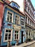 Μυθικό εστιατόριο στην παλαιά Ρήγα στοκ εικόνες με δικαίωμα ελεύθερης χρήσης