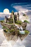 Μυθικό νησί διανυσματική απεικόνιση