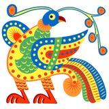 Μυθικό πουλί - Φοίνικας. Στοκ φωτογραφία με δικαίωμα ελεύθερης χρήσης