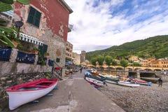 Μυθικό Cinque Terre Στοκ εικόνες με δικαίωμα ελεύθερης χρήσης