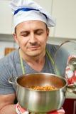 Μυρίζοντας stew λάχανων Στοκ φωτογραφίες με δικαίωμα ελεύθερης χρήσης