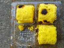 Μυρμήγκια στο ψωμί Στοκ Φωτογραφία