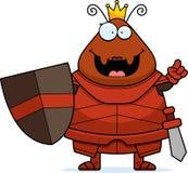 Μυρμήγκι κινούμενων σχεδίων βασίλισσα Armor Idea Στοκ φωτογραφίες με δικαίωμα ελεύθερης χρήσης