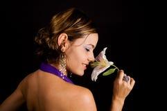 μυρωδιά λουλουδιών ομορφιάς Στοκ φωτογραφίες με δικαίωμα ελεύθερης χρήσης