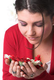 μυρωδιά λουλουδιών Στοκ Εικόνα