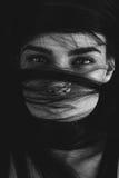μυστήρια γυναίκα πορτρέτ&omicron Στοκ φωτογραφίες με δικαίωμα ελεύθερης χρήσης