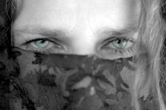 μυστήρια γυναίκα 3 Στοκ Φωτογραφία