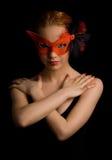 μυστήρια γυναίκα Στοκ φωτογραφία με δικαίωμα ελεύθερης χρήσης