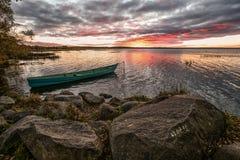 Μυστήρια ημερομηνία σε μια πέτρα Στοκ Εικόνες