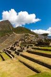 Μυστήρια πόλη - Machu Picchu, Περού, Νότια Αμερική Οι καταστροφές Incan Στοκ Φωτογραφίες