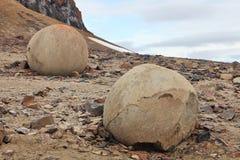 μυστήρια χαλίκια νησιών λί&theta Στοκ Φωτογραφίες