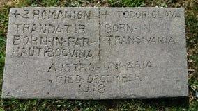 Μυστήριες ιστορίες νεκροταφείων Στοκ Φωτογραφία