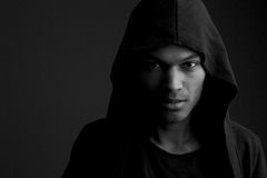 Μυστήριο άτομο Στοκ φωτογραφίες με δικαίωμα ελεύθερης χρήσης
