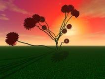 Μυστήριο τεράστιο λουλούδι ελεύθερη απεικόνιση δικαιώματος