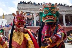 Μυστήριο Cham σε Ladakh, βόρεια Ινδία Στοκ Φωτογραφίες