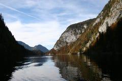 μυστήριο salzkammergut λιμνών της Αυ&sigma Στοκ Εικόνα