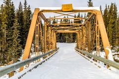 Μυστηριώδες χειμερινό πρωί, επαρχιακή περιοχή αναψυχής βόρειων φαντασμάτων, Αλμπέρτα, Καναδάς στοκ φωτογραφία με δικαίωμα ελεύθερης χρήσης