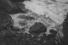 Μυστική ακτή Στοκ φωτογραφία με δικαίωμα ελεύθερης χρήσης