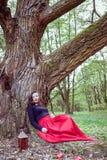 Μυστική γυναίκα μαγισσών Στοκ φωτογραφία με δικαίωμα ελεύθερης χρήσης